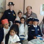 LOS NIÑOS DEL CUERPO INFANTIL DE POLICIA, FUERON RECIBIDOS POR EL INTENDENTE