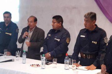EL INTENDENTE MUNICIPAL DN ISIDRO RUARTE JUNTO AL JEFE DE LA POLICIA DE LA PROVINCIA DE SALTA