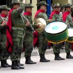 INVITACION DE LA BANDA DE MUSICA EN EL DIA DE SERVICIOS DE BANDAS MILITARES EN HONOR A SU SANTA PATRONA SANTA CECILIA