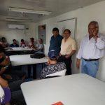 INTENDENCIA .06-05-2019  El Intendente Isidro Ruarte visitó en la mañana de hoy …