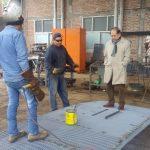 INTENDENCIA.31-05-2019    El Intendente  Municipal Isidro Ruarte visitó el talle…