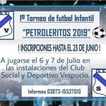 COORDINACIÓN DE PRENSA . 13-06-2019. PRIMER TORNEO DEPARTAMENTAL INFANTIL 2019 O…