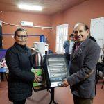 INTENDENCIA:18-06-2019   En la mañana de hoy el Intendente Municipal don Isidro …