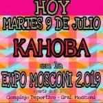 INTENDENCIA:09-07-2019  Hoy por la tarde a partir de las 15 hs en la Expo Moscon…