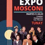 INTENDENCIA:09-07-2019  Hoy  a la tarde gran show del grupo Tunay, en el festiva…