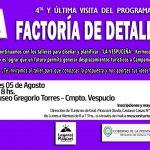DIRECCION DE TURISMO:05-08-2019  La directora de Turismo, Sra.  Natalia Lescano,…