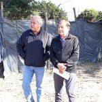INTENDENCIA:12-08-2019  El Intendente Municipal don Isidro Ruarte, visito hoy la…