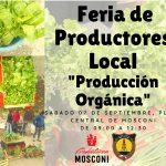 INTENDENCIA:05-09-2019  Feria de Productores Local.  Este sábado 7 de septiembre…
