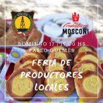 INTENDENCIA:12-11-2019  FERIA DE PRODUCTORES LOCALES  Este domingo 17 de Noviemb…