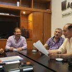 INTENDENCIA ISIDRO RUARTE  Esta mañana  importante reunion con el directorio de …